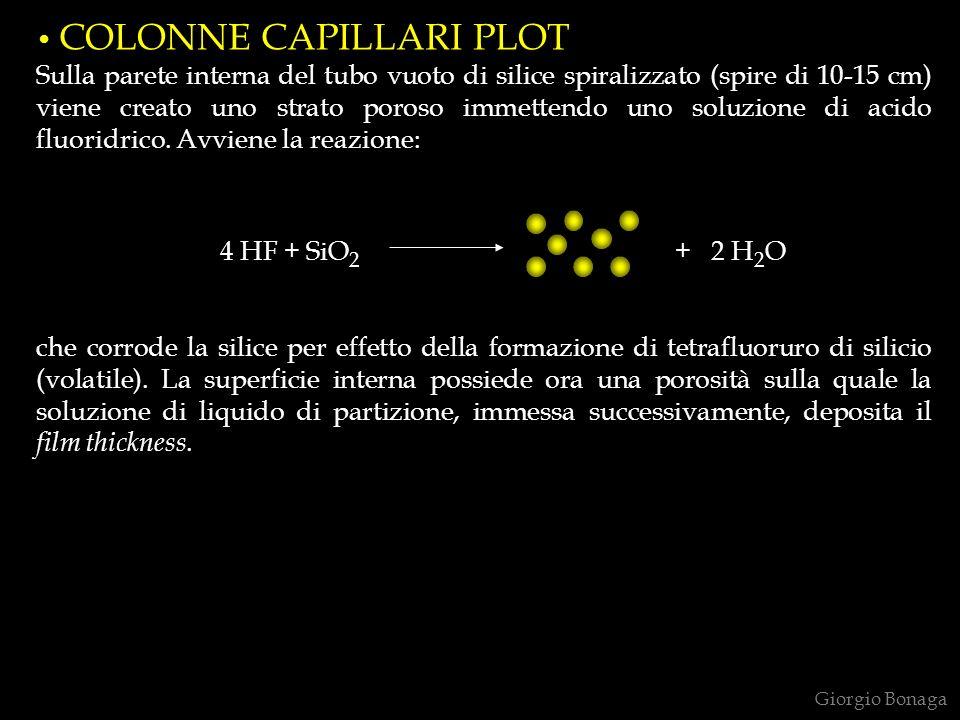 COLONNE CAPILLARI PLOT