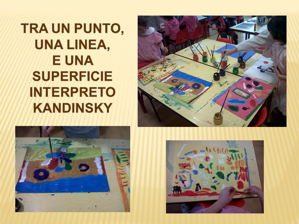 E UNA SUPERFICIE INTERPRETO KANDINSKY