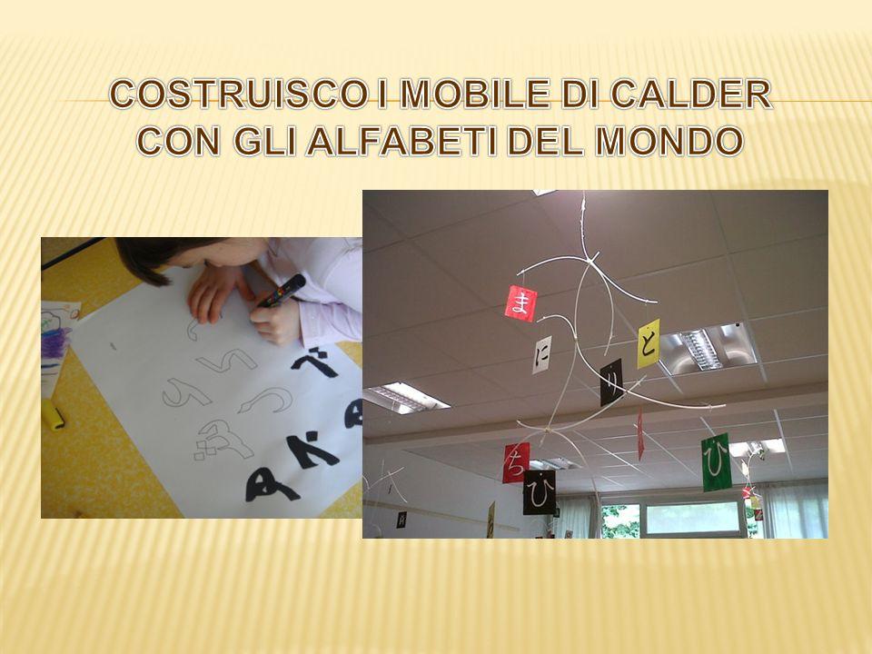 COSTRUISCO I MOBILE DI CALDER CON GLI ALFABETI DEL MONDO