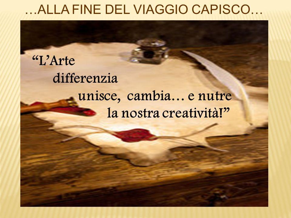 differenzia unisce, cambia… e nutre la nostra creatività!