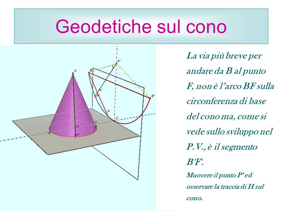 Geodetiche sul cono