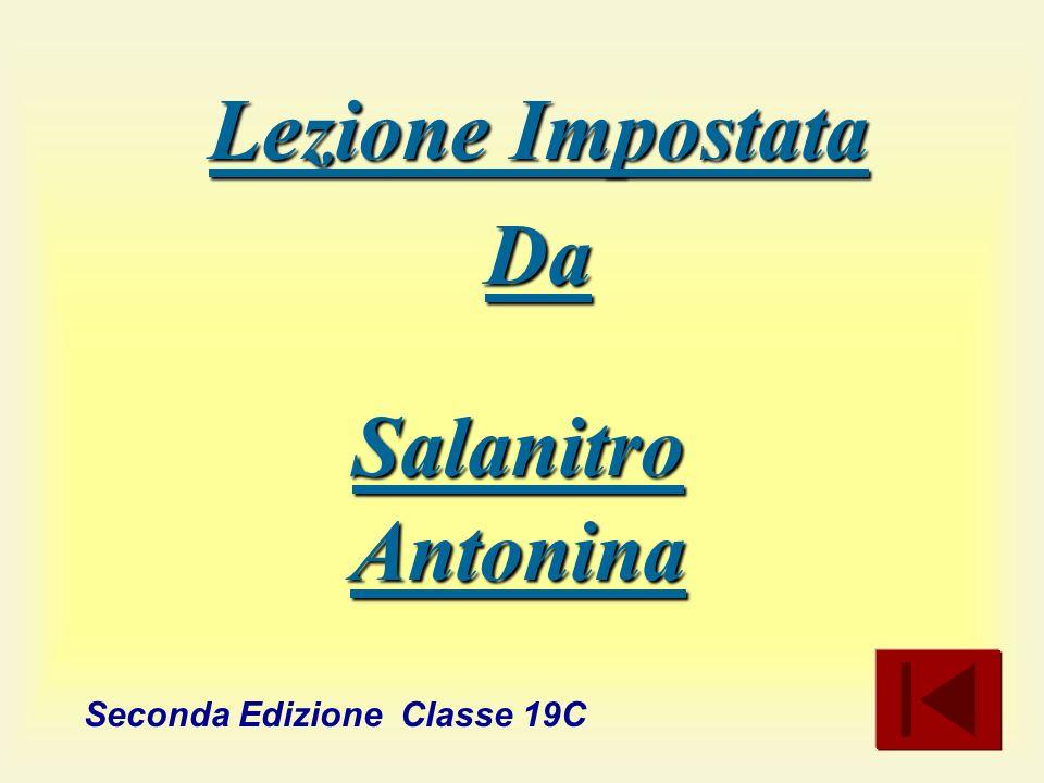 Seconda Edizione Classe 19C