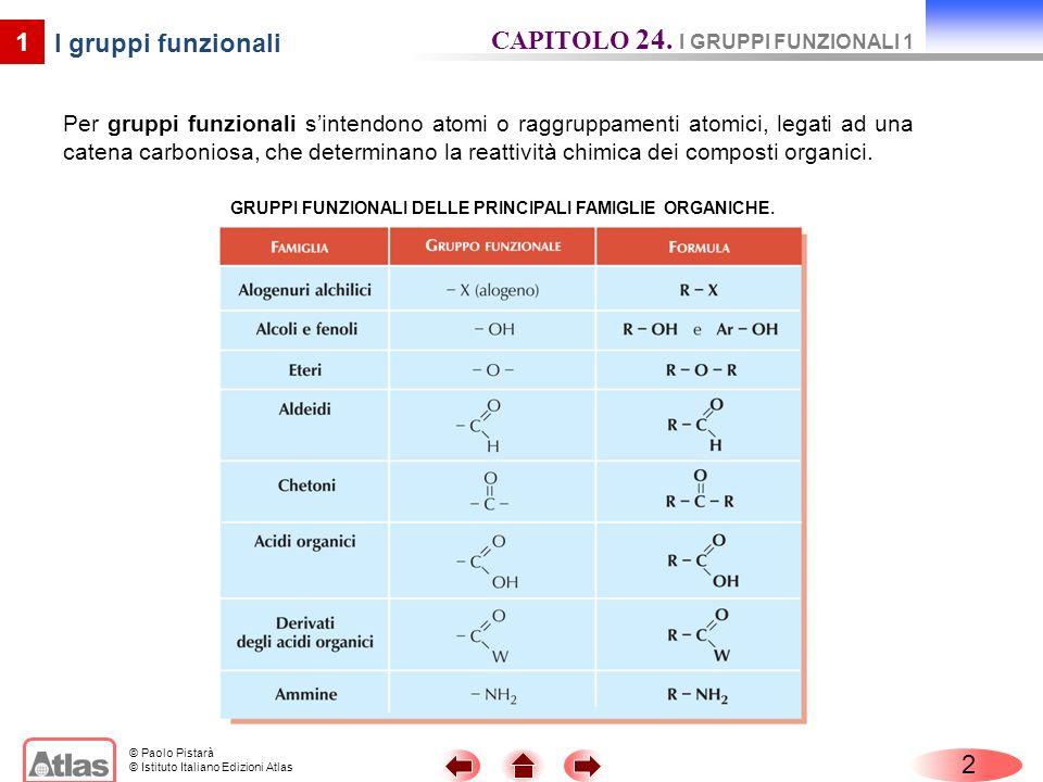 CAPITOLO 24. I GRUPPI FUNZIONALI 1 I gruppi funzionali