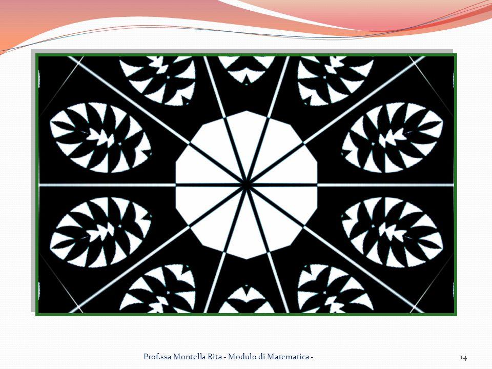 Prof.ssa Montella Rita - Modulo di Matematica -