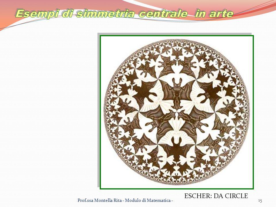 Esempi di simmetria centrale in arte