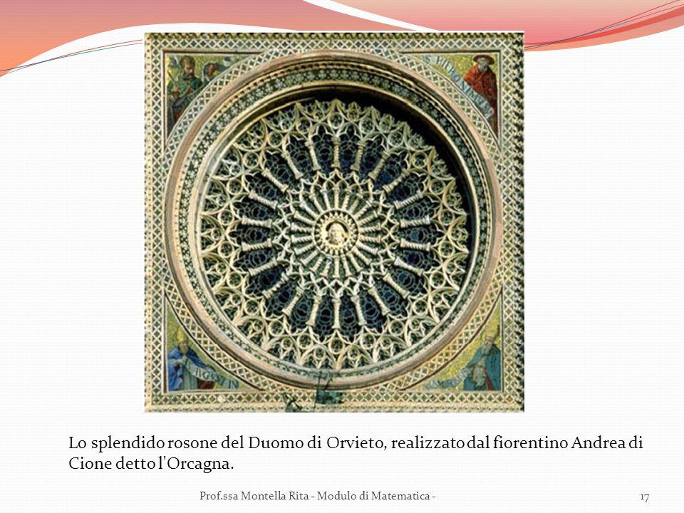 Lo splendido rosone del Duomo di Orvieto, realizzato dal fiorentino Andrea di Cione detto l Orcagna.
