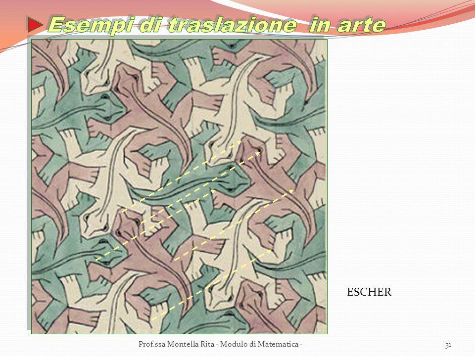 Esempi di traslazione in arte