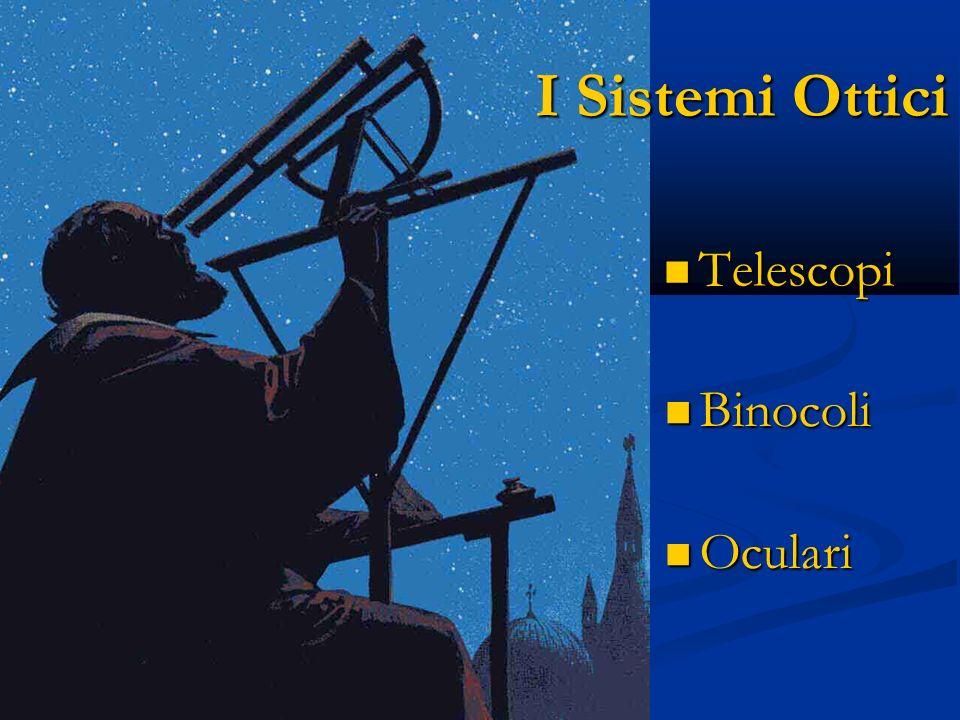 I Sistemi Ottici Telescopi Binocoli Oculari