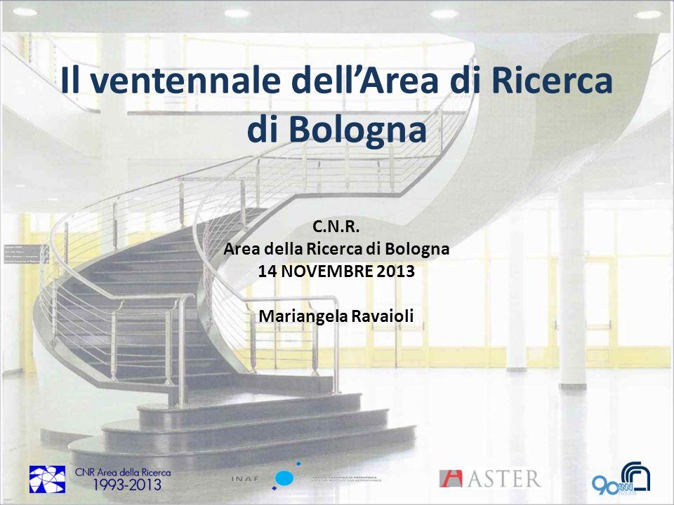 Il ventennale dell'Area di Ricerca di Bologna