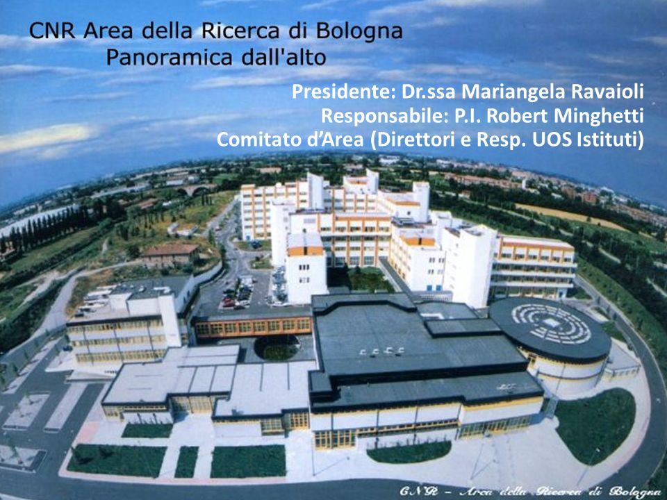 Presidente: Dr. ssa Mariangela Ravaioli Responsabile: P. I