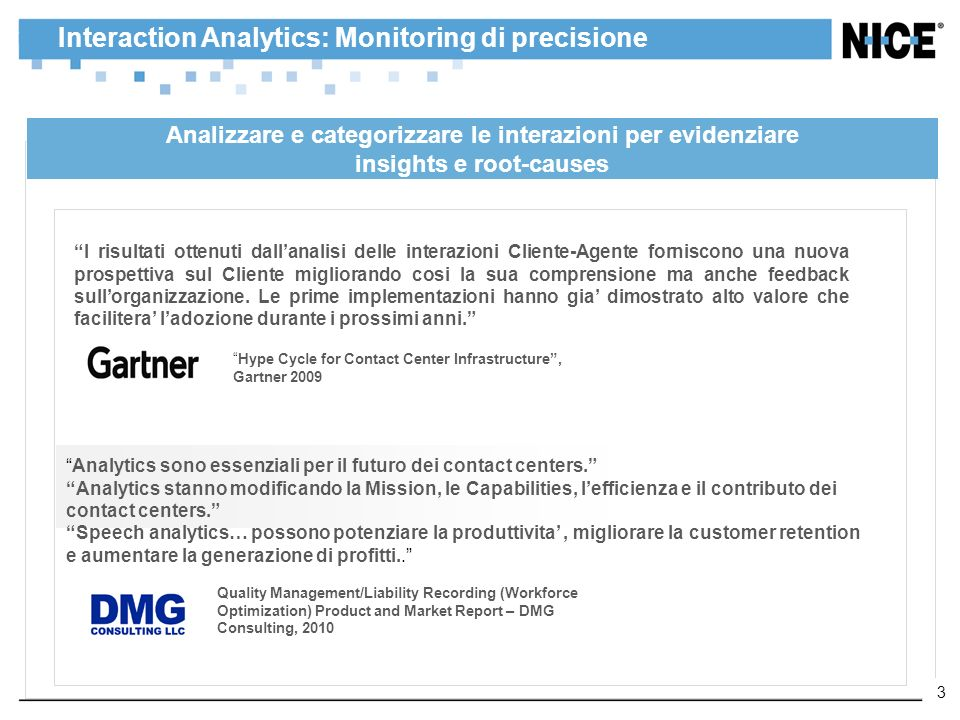 Interaction Analytics: Monitoring di precisione