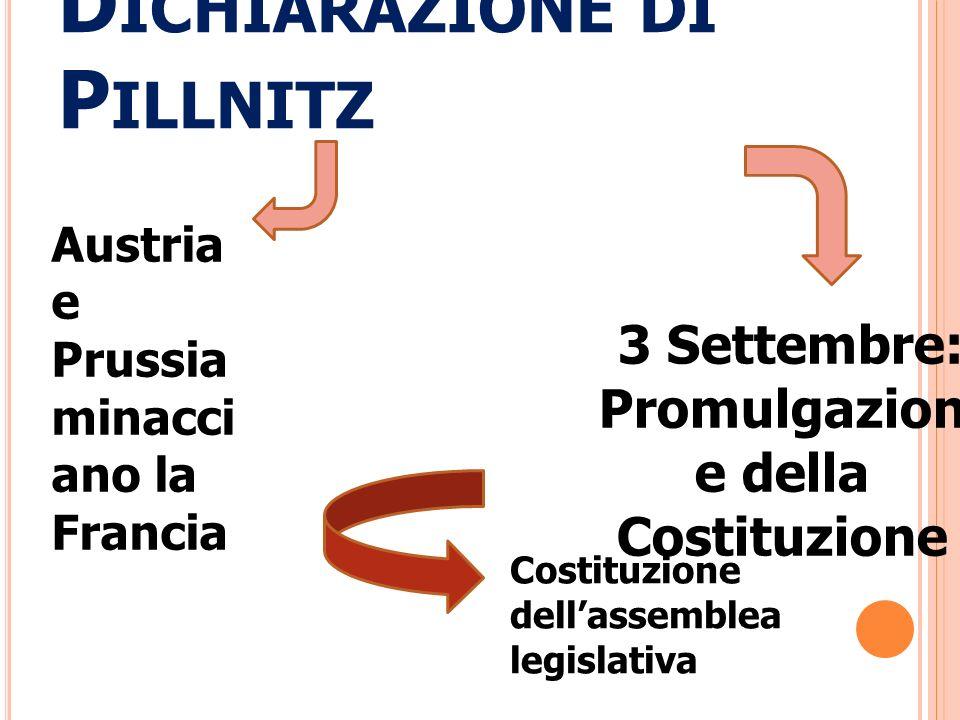 Dichiarazione di Pillnitz