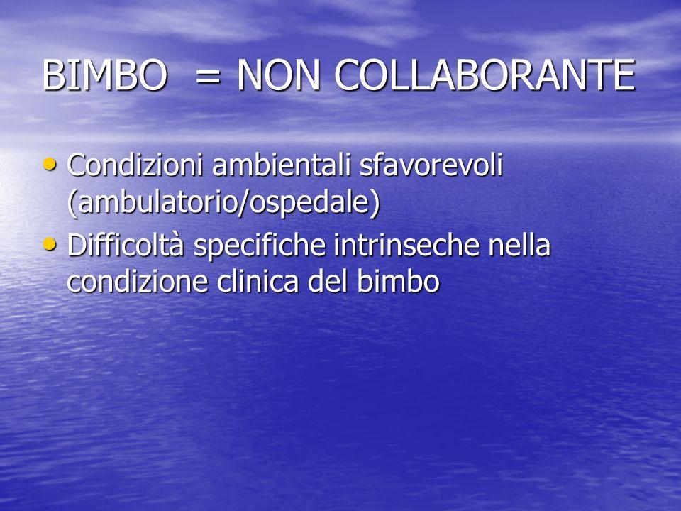 BIMBO = NON COLLABORANTE