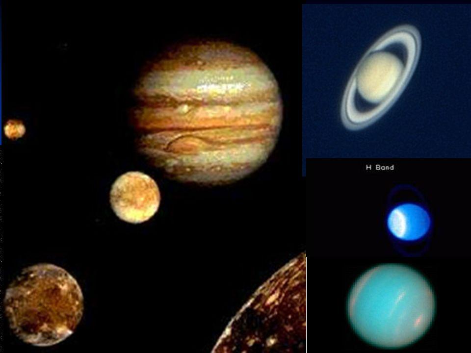 I pianeti giganti: gassosi e ghiacciati