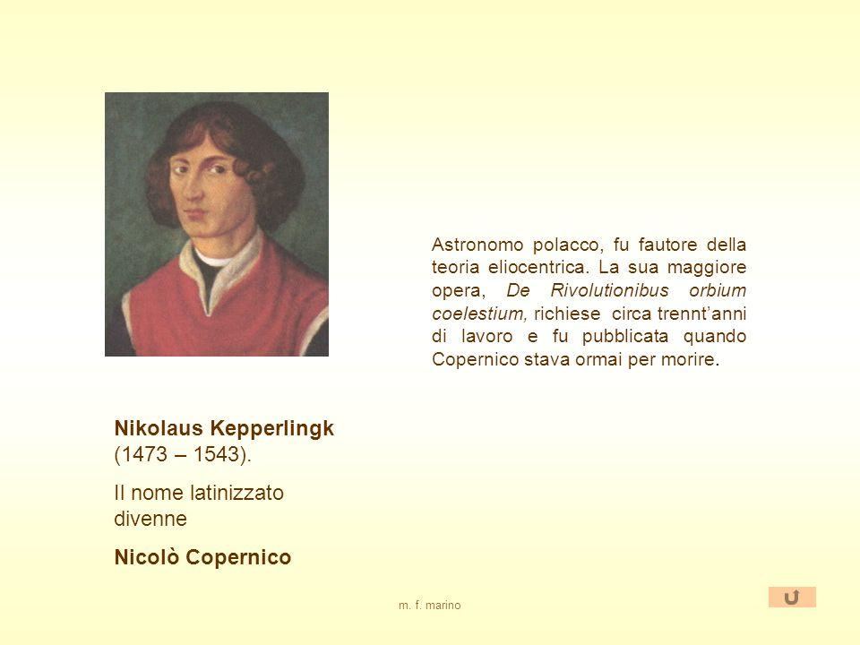 Nikolaus Kepperlingk (1473 – 1543). Il nome latinizzato divenne