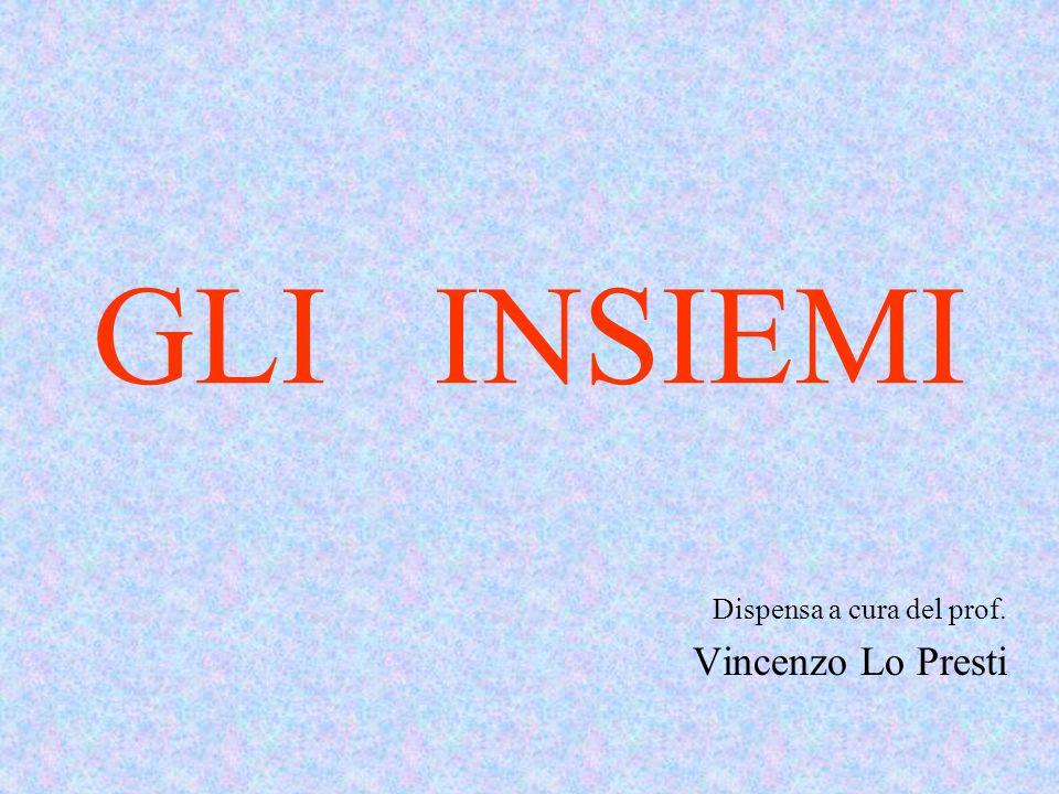 Dispensa a cura del prof. Vincenzo Lo Presti