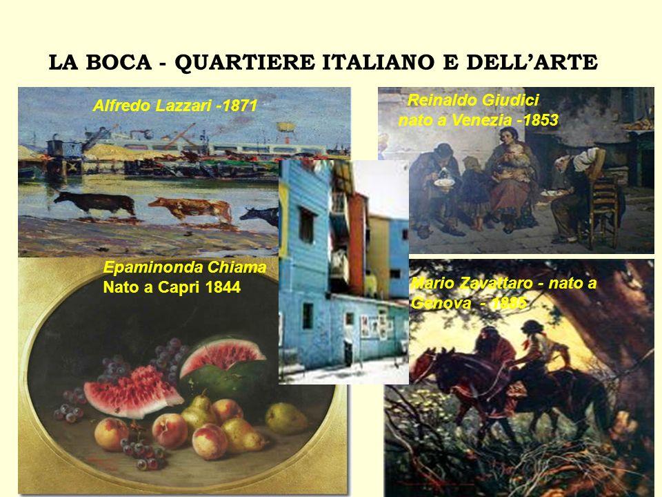 LA BOCA - QUARTIERE ITALIANO E DELL'ARTE