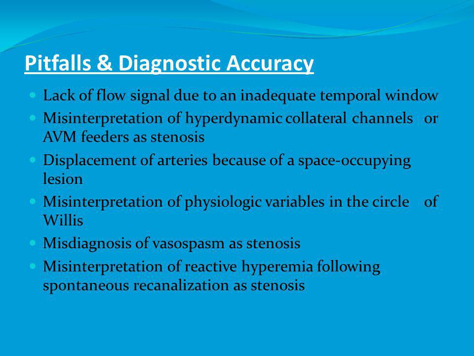 Pitfalls & Diagnostic Accuracy