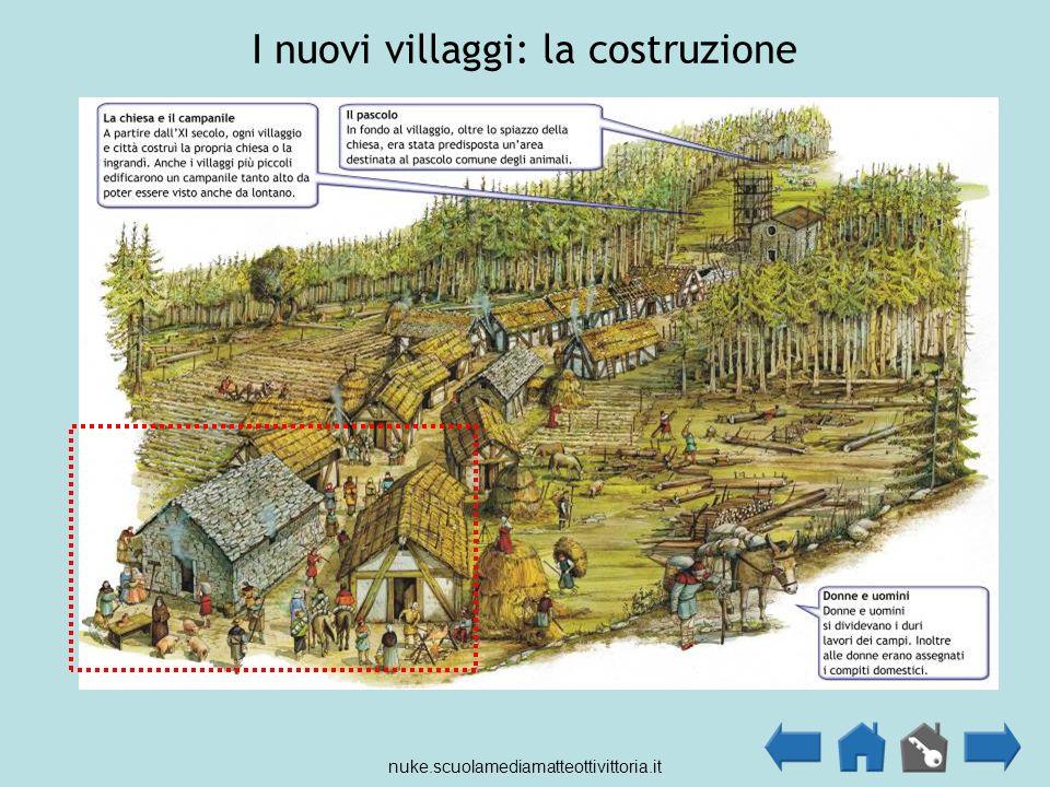 I nuovi villaggi: la costruzione