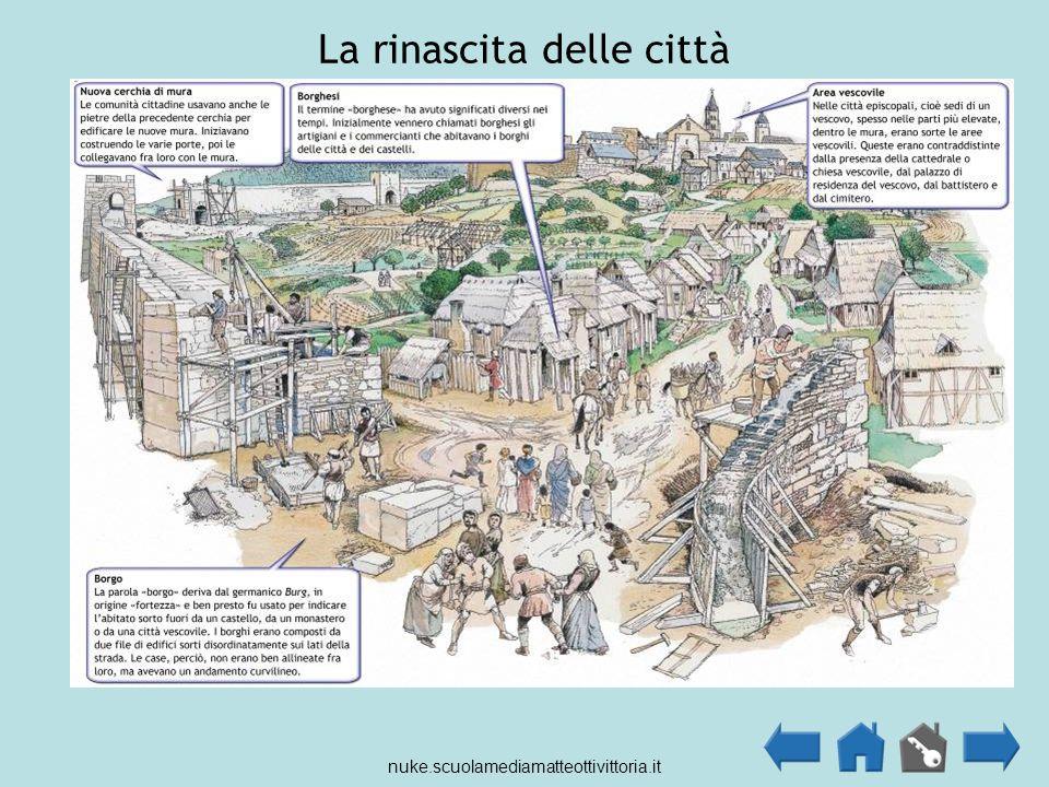 La rinascita delle città