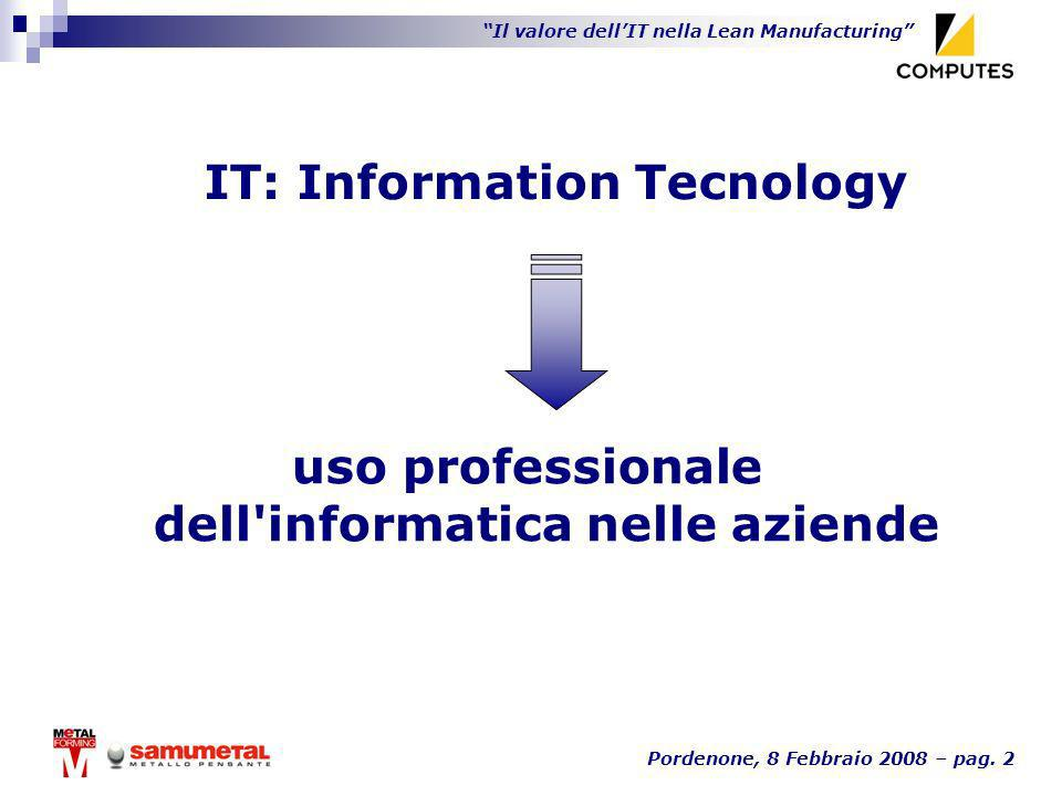 IT: Information Tecnology