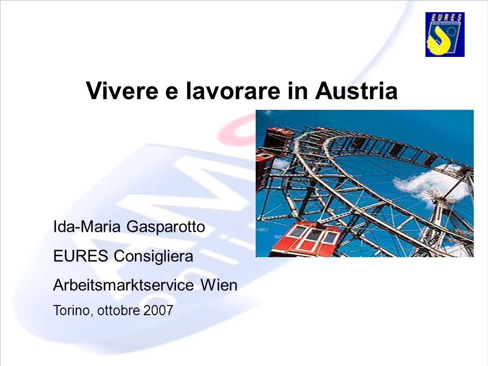 Vivere e lavorare in Austria
