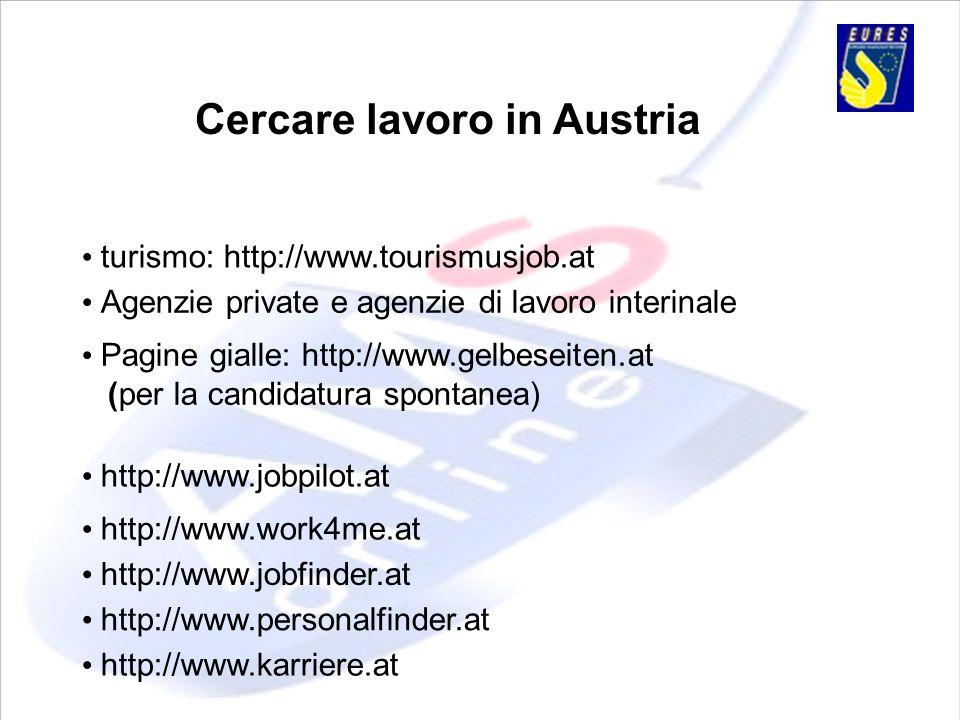 Cercare lavoro in Austria