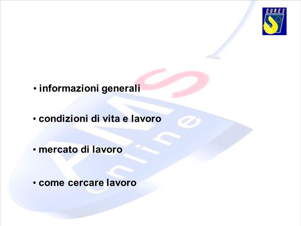 • informazioni generali