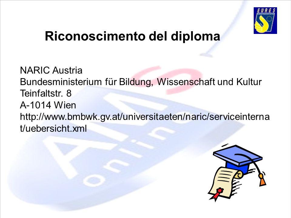 Riconoscimento del diploma