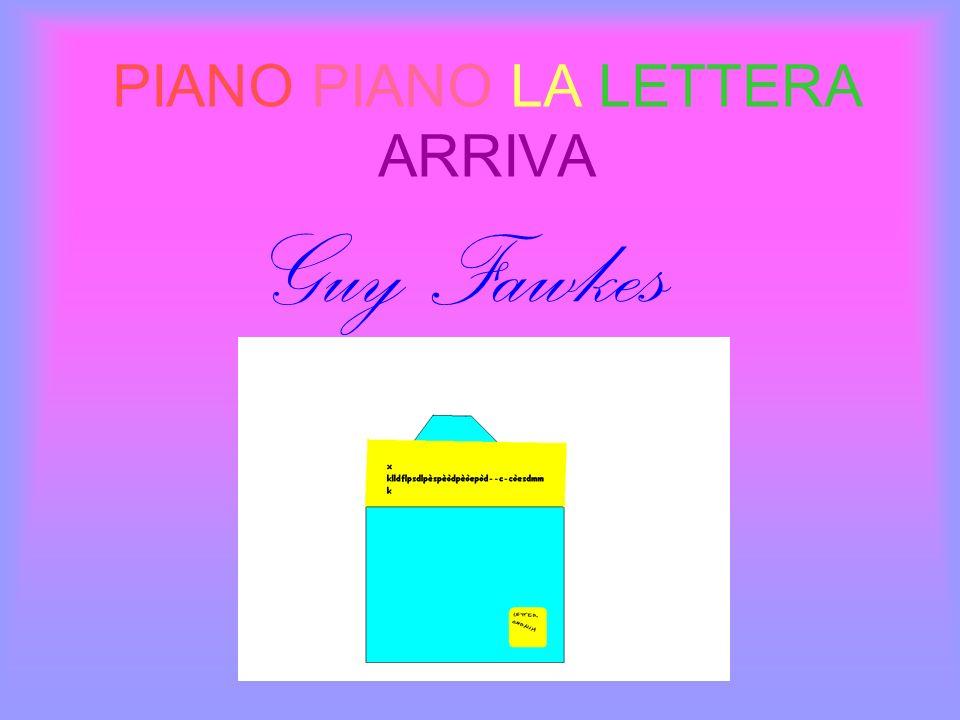PIANO PIANO LA LETTERA ARRIVA