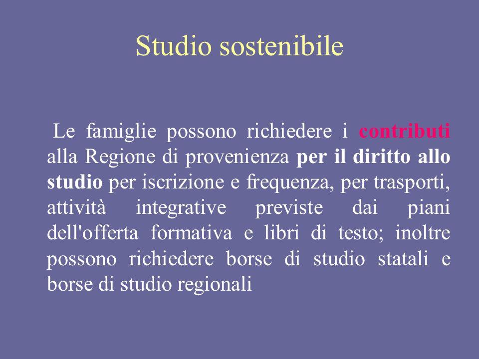 Studio sostenibile