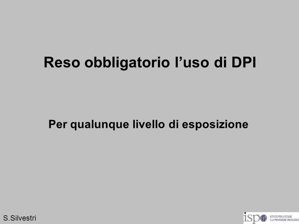Reso obbligatorio l'uso di DPI