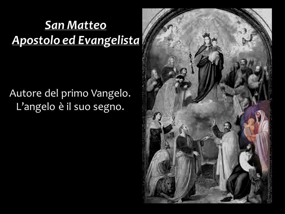 Apostolo ed Evangelista