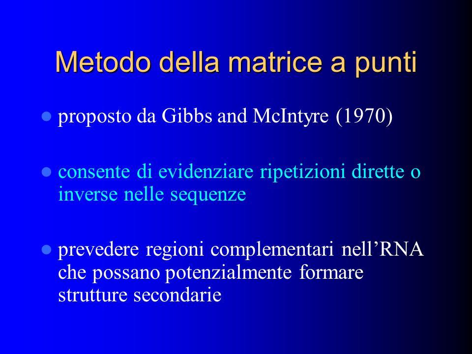 Metodo della matrice a punti