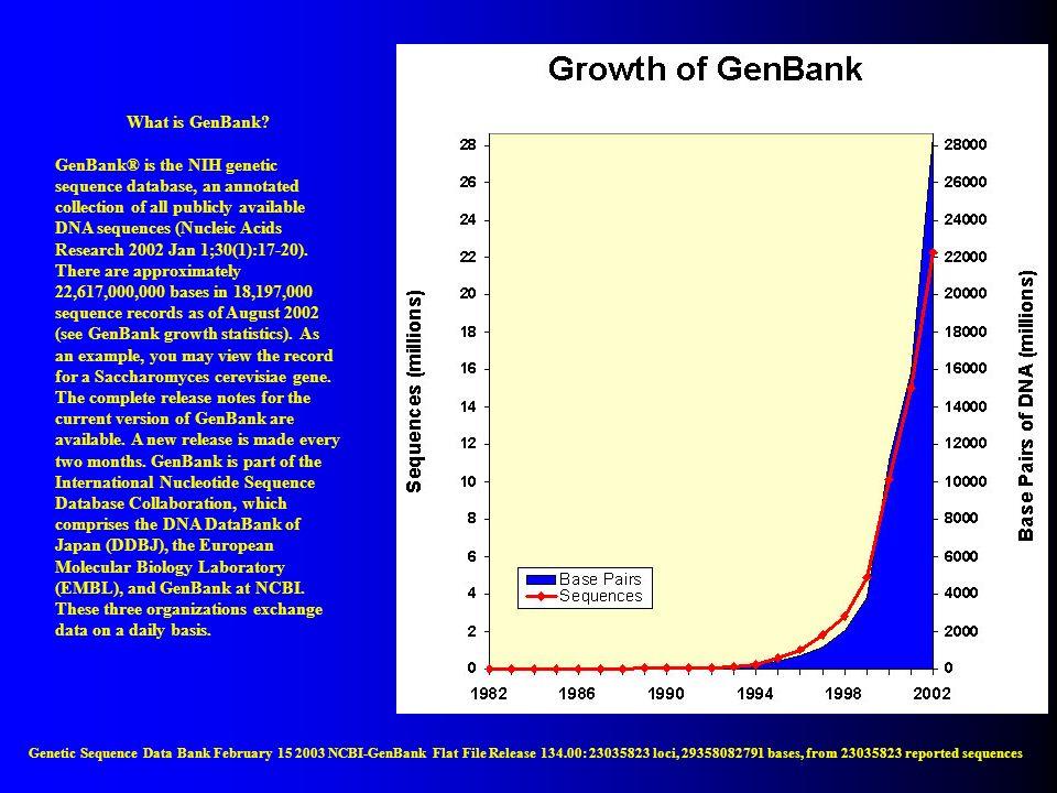 What is GenBank