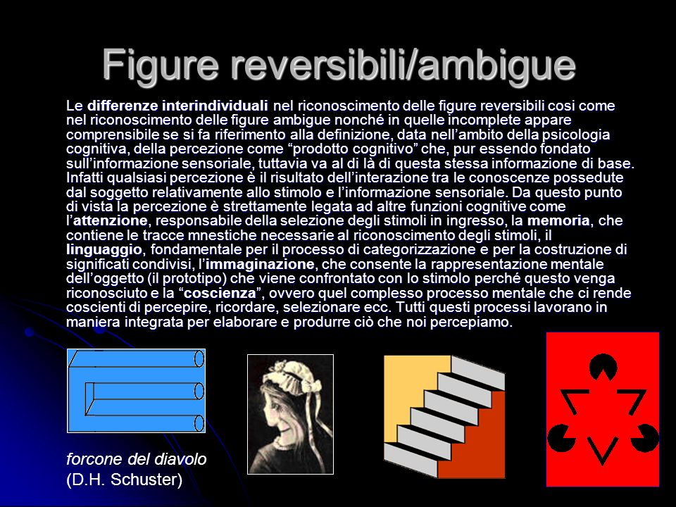 Figure reversibili/ambigue
