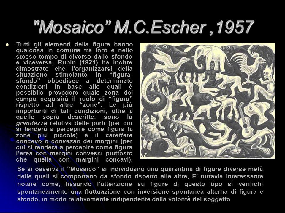 Mosaico M.C.Escher ,1957