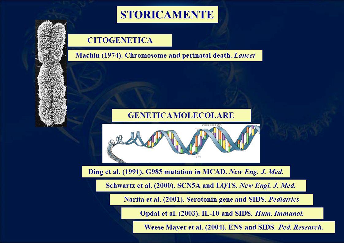 STORICAMENTE CITOGENETICA GENETICA MOLECOLARE