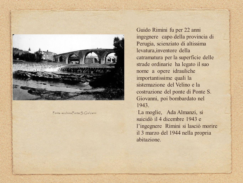 Ponte vecchio a Ponte S. GioVanni