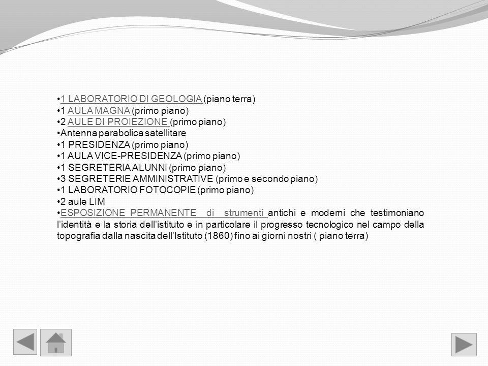 1 LABORATORIO DI GEOLOGIA (piano terra)