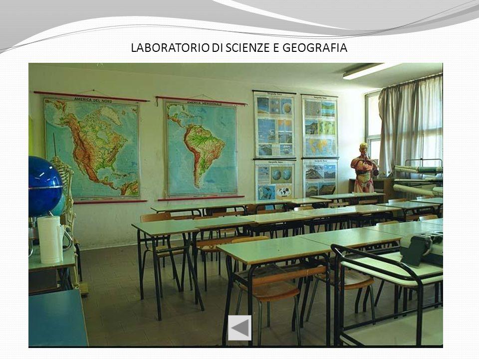 LABORATORIO DI SCIENZE E GEOGRAFIA
