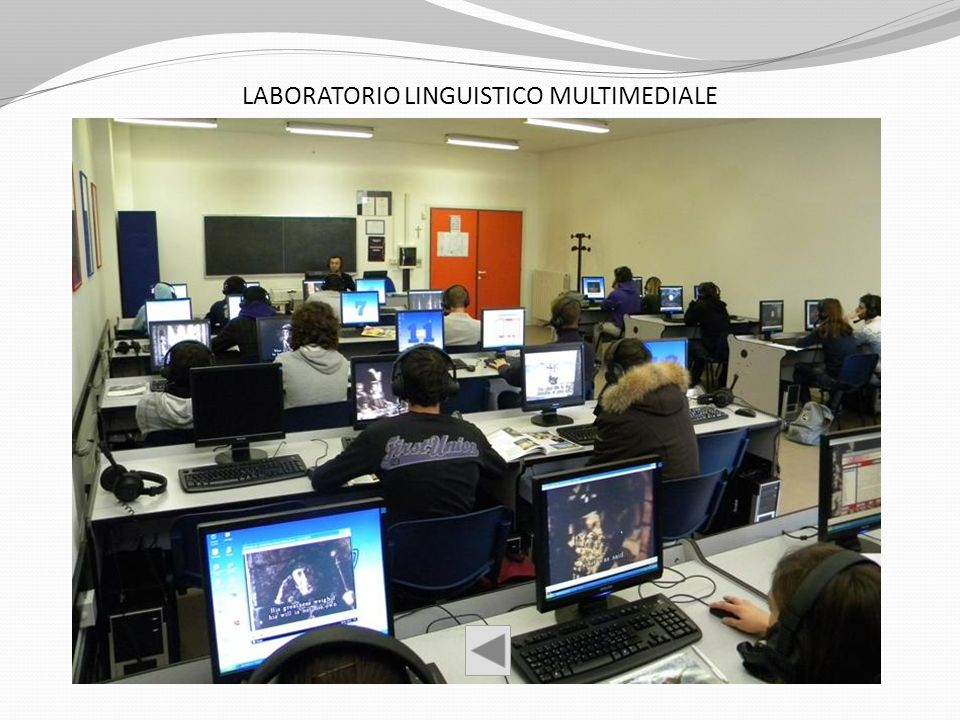 LABORATORIO LINGUISTICO MULTIMEDIALE