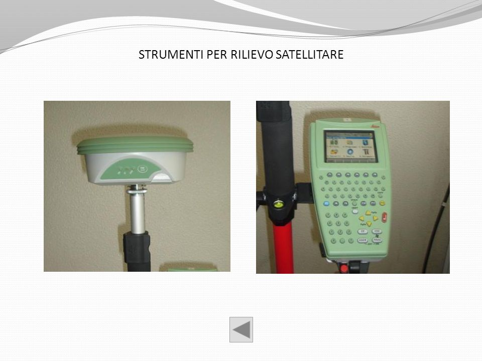 STRUMENTI PER RILIEVO SATELLITARE