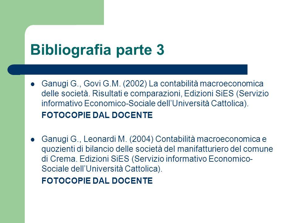 Bibliografia parte 3