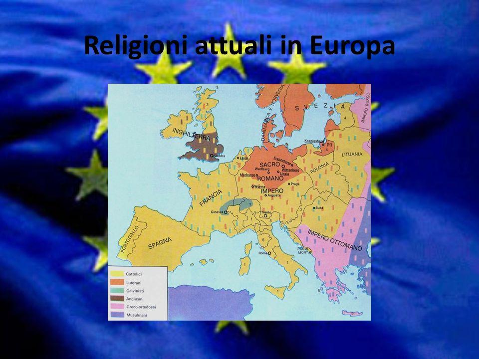 Religioni attuali in Europa