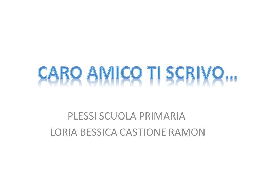 PLESSI SCUOLA PRIMARIA LORIA BESSICA CASTIONE RAMON