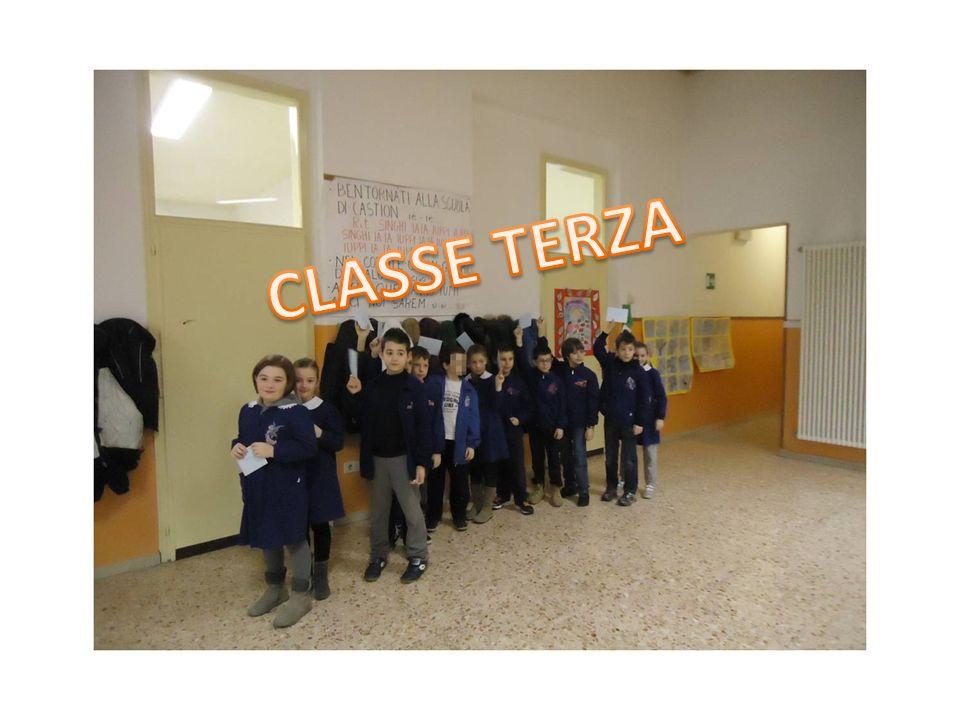 CLASSE TERZA CLASSE TERZA