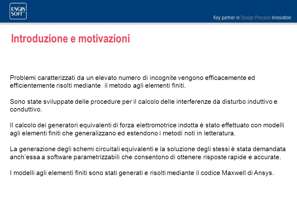 Introduzione e motivazioni