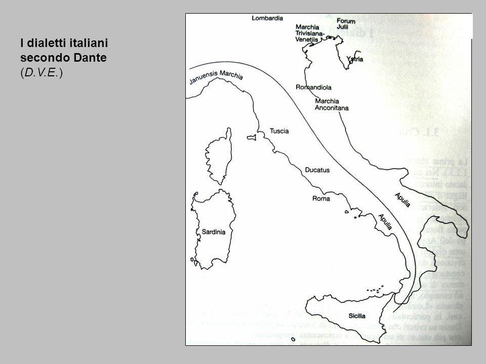 I dialetti italiani secondo Dante (D.V.E.)