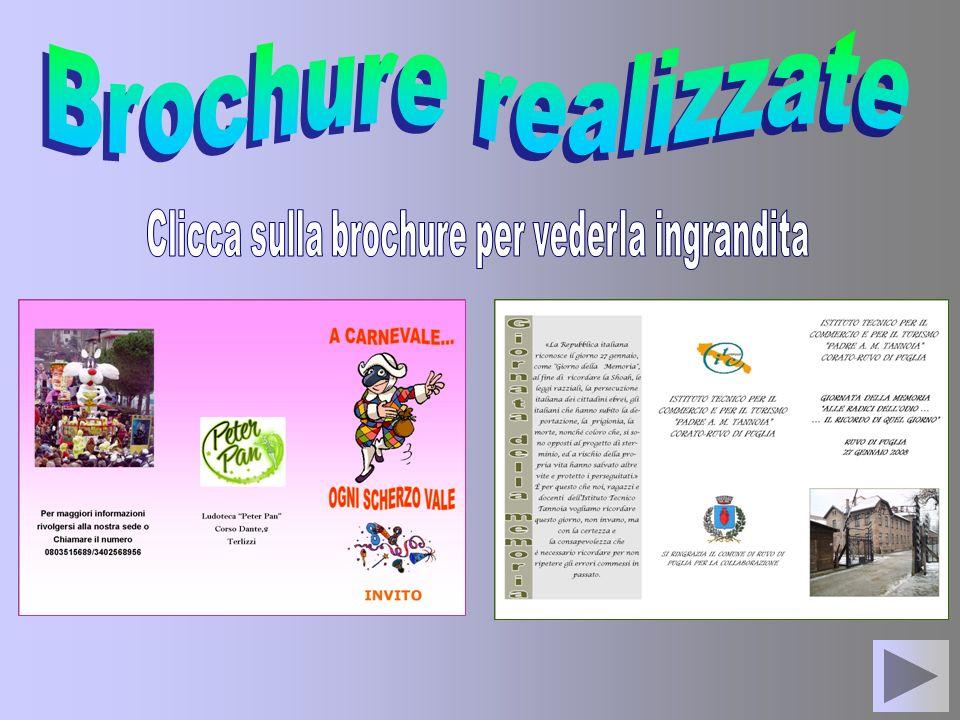 Clicca sulla brochure per vederla ingrandita